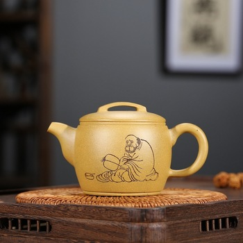 recommended all hand gold period of mud sweat earthen pot teapot product launches special pot of classic lines designed