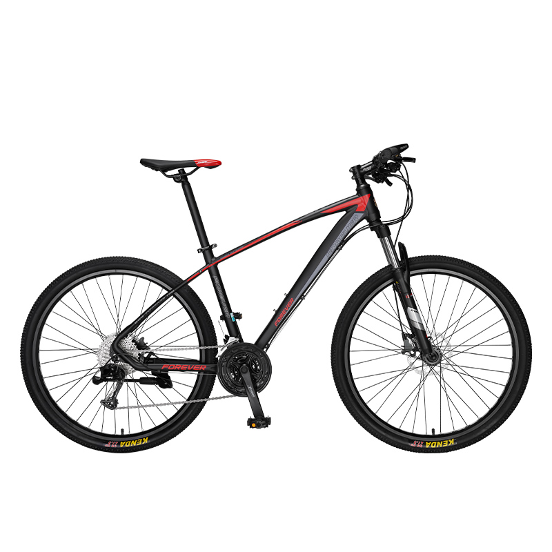 Mountain Bike 26 27.5 Inch Steel 33 Speed Bicycle Cross-country Racing  Integrated Wheel Aluminum Alloy Double Disc Brake