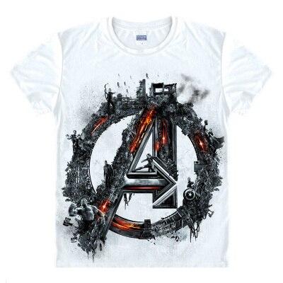 Avengers T-shirt Ironman Captain America Eisen männer Hawkeye Schwarz witwe Marvel T-shirt Super hero Custom Made 3D Druck Geschenk t