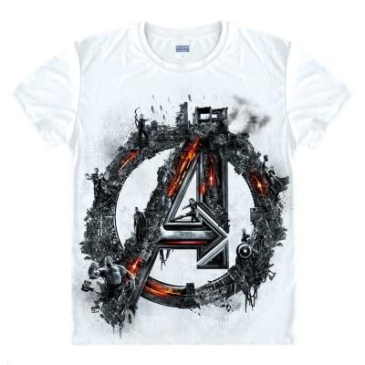 Avengers T Shirt Ironman Captain America Iron men Hawkeye Black Widow Marvel T-shirt Super hero Custom Made 3D Print Gift Tee