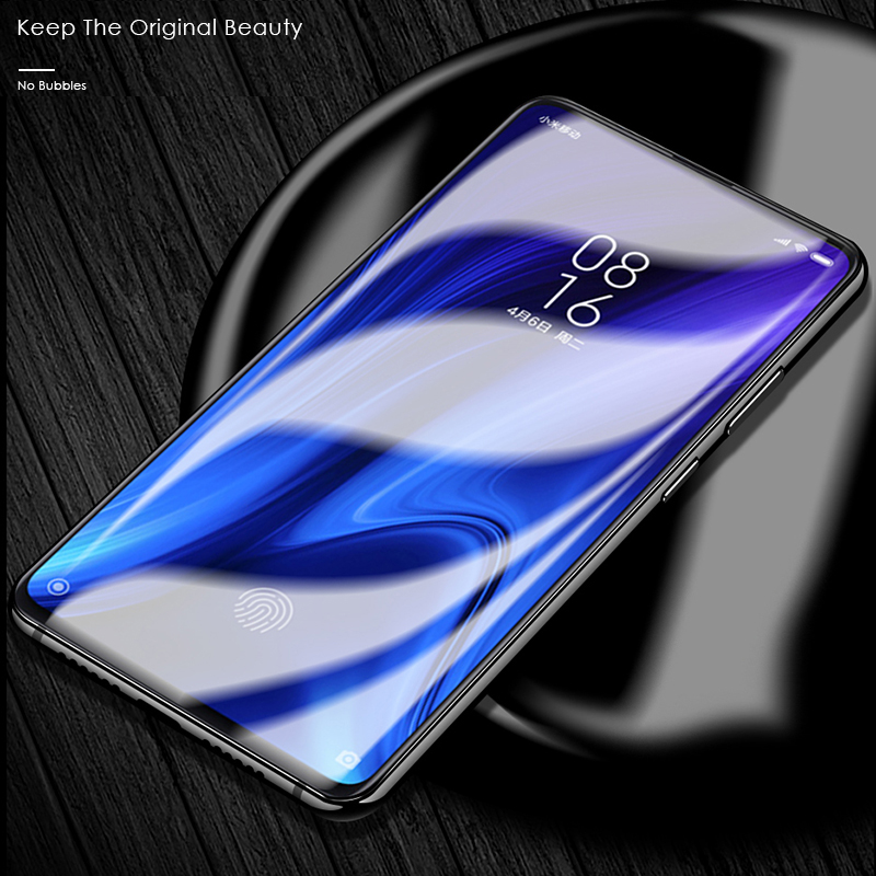 Image 3 - CHYI 3D Curved Film For Xiaomi Redmi K20 Pro Screen Protector Mi 9T Full Cover nano Hydrogel Film With Tools Not Glass Mi9t-in Phone Screen Protectors from Cellphones & Telecommunications on