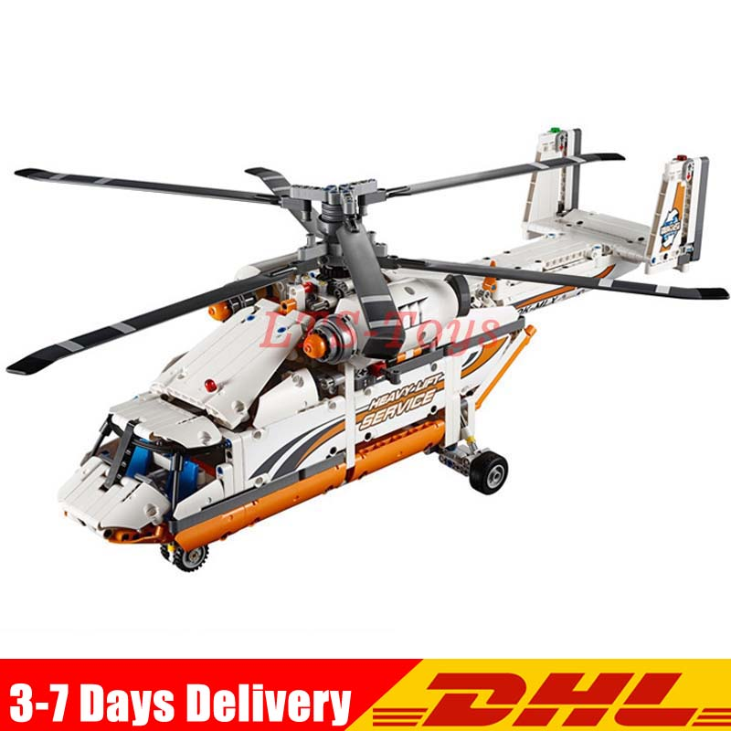 Lepin 20002 1060pcs technic mechanical group high load helicopter building assembling blocks toys Compatible Legoings 42052 new lepin 20002 technology series mechanical group high load helicopter blocks compatible with 42052 boy assembling toys