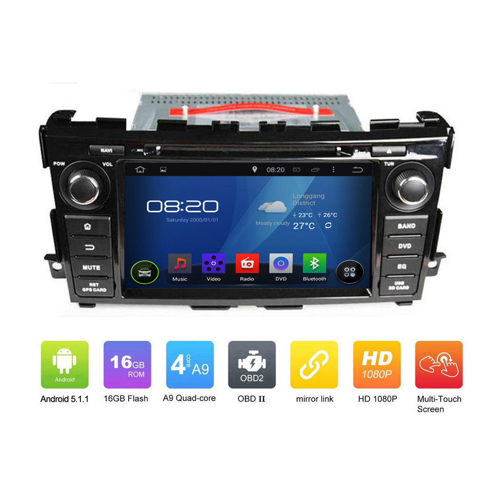 New Car Electronic Auto Radio Audio 2din Android 5.1.1 Car