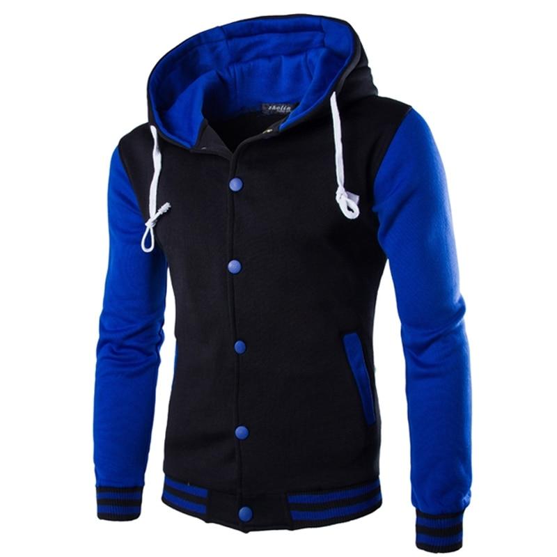 Brand 2018 Hot Sale Hoodie Button Cardigan Hoodies Men Fashion Tracksuit Male Sweatshirt Hoody Mens Purpose Tour
