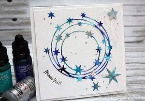 Image 2 - Piggy Ambachtelijke metalen stansmessen cut sterven mold Star ring decoratie plakboek craft mes schimmel blade punch stencils sterft
