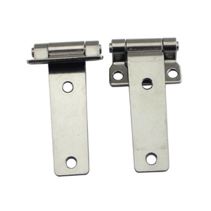 Image 2 - HCSSZP Boat Accessories 1 Pcs Marine Grade Stainless Steel T Type Container Hinge Forged Truck Vehicle Hinge with 135*58mm