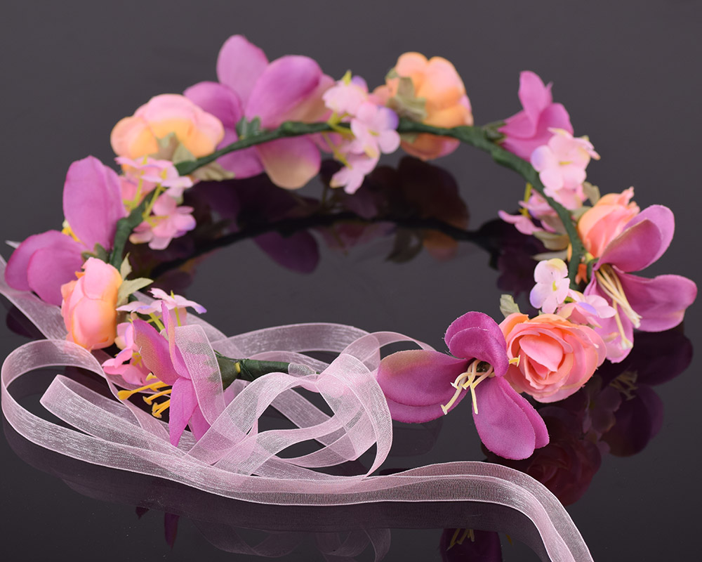 Cxadditions adjustable bridal floral crown hair wreath tiara breath cxadditions adjustable bridal floral crown hair wreath tiara breath dried lily breath jasmine flower hairpiece headdress women in hair accessories from izmirmasajfo