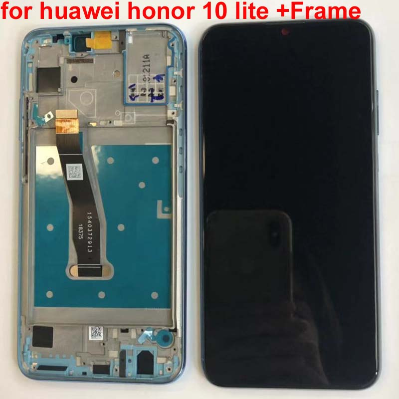 """HTB1EMV3KkzoK1RjSZFlq6yi4VXaK 100%Original Display For Huawei Honor 10 Lite LCD Touch Screen Digitizer with Frame Global Version 6.21"""" HRY-LX1 HRY-LX2 HRY-L21"""