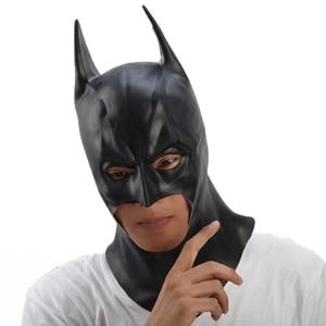 Image 5 - باتمان قناع هالوين حفلة تنكرية أقنعة تنكرية للحفلات فيلم بروس واين تأثيري ماسكارا mascaras دي اللاتكس realista carnavy قناع الإرهاب