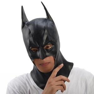 Image 5 - Batman Mask Halloween masquerade party Masks Movie Bruce Wayne Cosplay mascara mascaras de latex realista carnaval masque terror