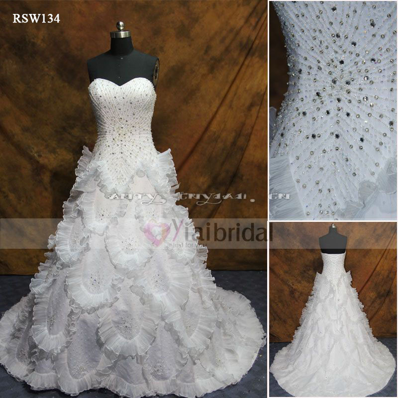 Rsw134 Bling Wedding Dresses In From Weddings Events On Aliexpress Alibaba Group