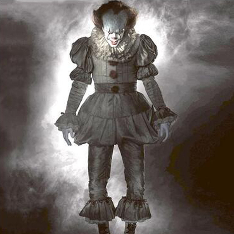 Clowns return to the soul COS, Halloween plays the role of a clown. Roleplay Clown Circus Clown Costume Men Women