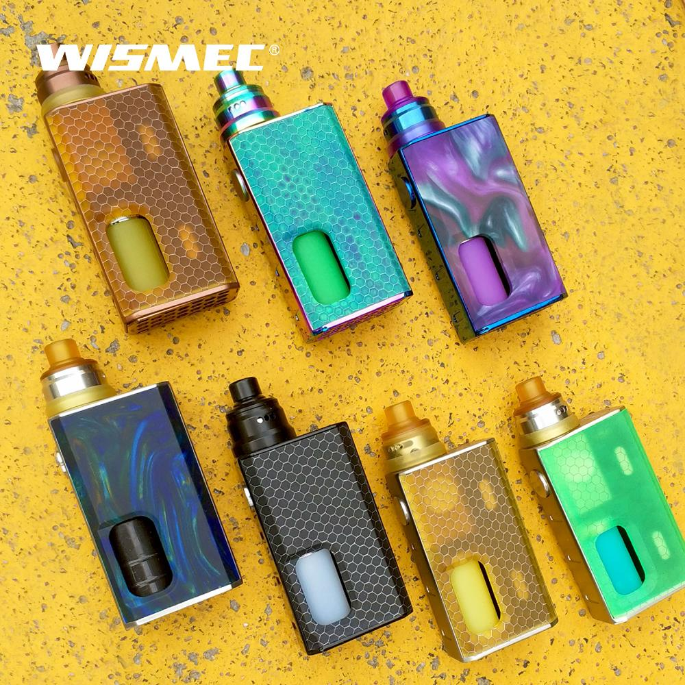 [Russian/usa/France]WISMEC LUXOTIC BF Kit with Tobhino RDA Tank squonk bottle 7.5ml 100W Electronic cigarette vape kit
