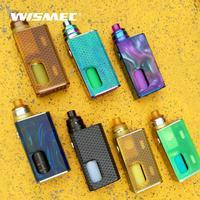 Original WISMEC LUXOTIC BF Kit with Tobhino RDA Tank squonk bottle 7.5ml 100W Electronic cigarette vape kit