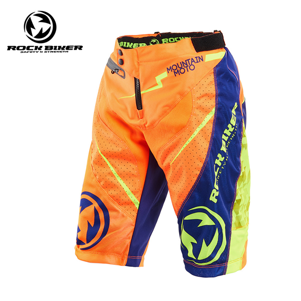 Rock Biker Motocross Pants Motorcycle Shorts Bicycle Dirt Bike Downhill MTB ATV MX DH Mountain Bike Shorts Off Road Short Pants crf50 frame battery box dirt pit bike case holder off road motorcycle apollo 110 chinese motocross