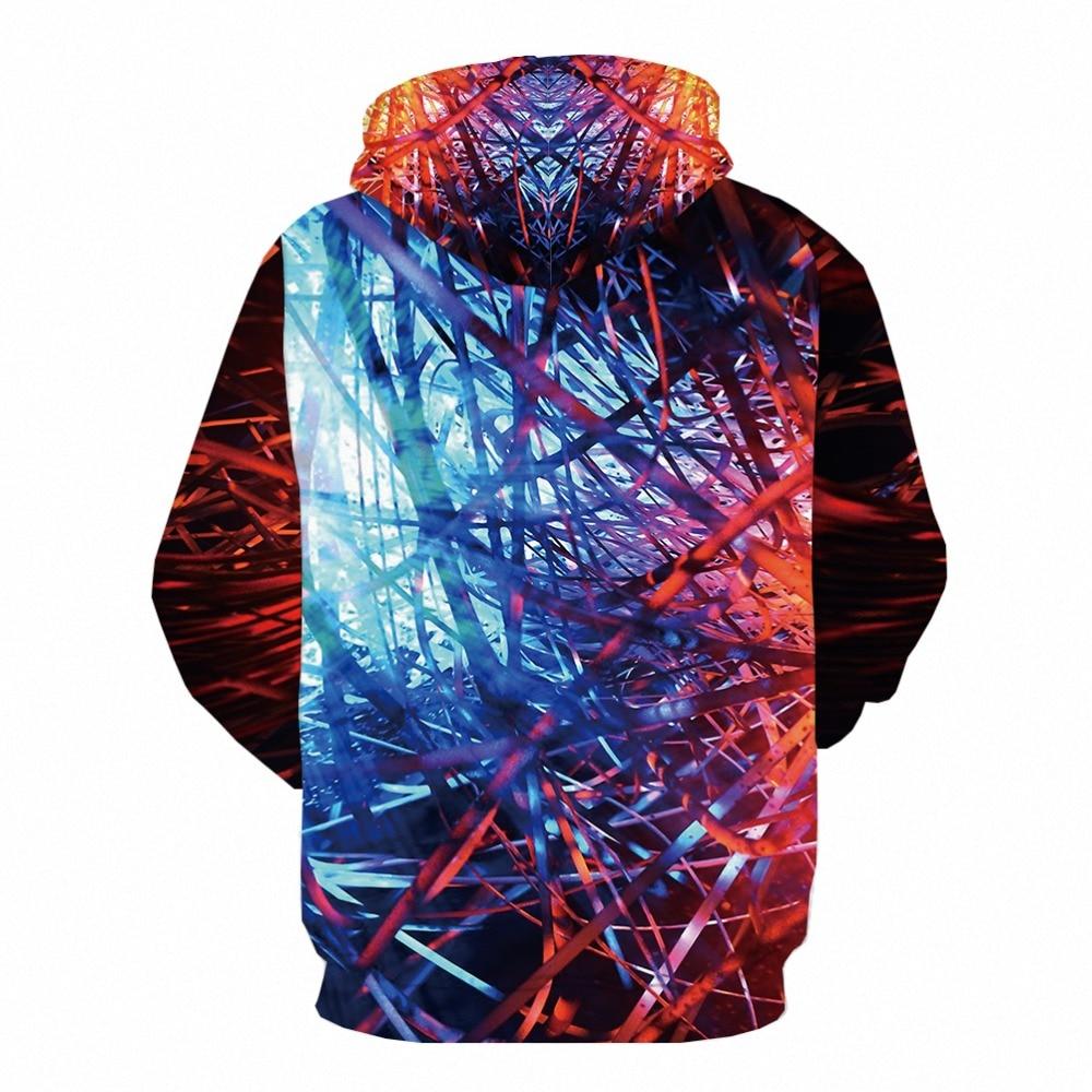 KYKU Brand Forest Sweatshirts men Geometric Hoodie Print Flame Hoody Anime Harajuku Hooded Casual Gothic 3d Printed Long Sleeve in Hoodies amp Sweatshirts from Men 39 s Clothing
