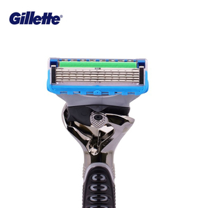 Image 4 - Gillette ProGlide Power männer Rasiermesser Schwarz Griff + 1 Klinge Refill Fusion5 Mit FlexBall Technologie Mit 5 Anti reibung Klingen