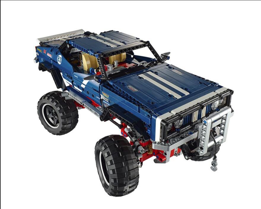 20011 technic series Super classique édition limitée de véhicules tout terrain modèles blocs de construction briques Compatible jouet 41999-in Blocs from Jeux et loisirs    1