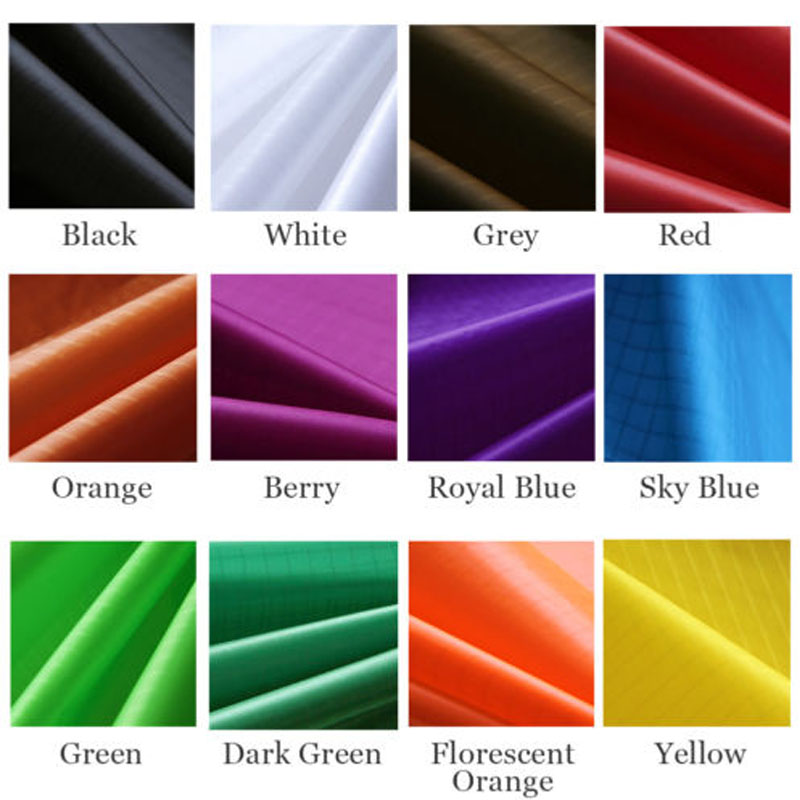 10m x 1,45m Polyester Fabric Super Light Ripstop Kite Fabric PU Coated Icarex Vattentät Fabric Kite Flag Banner Djurkläder