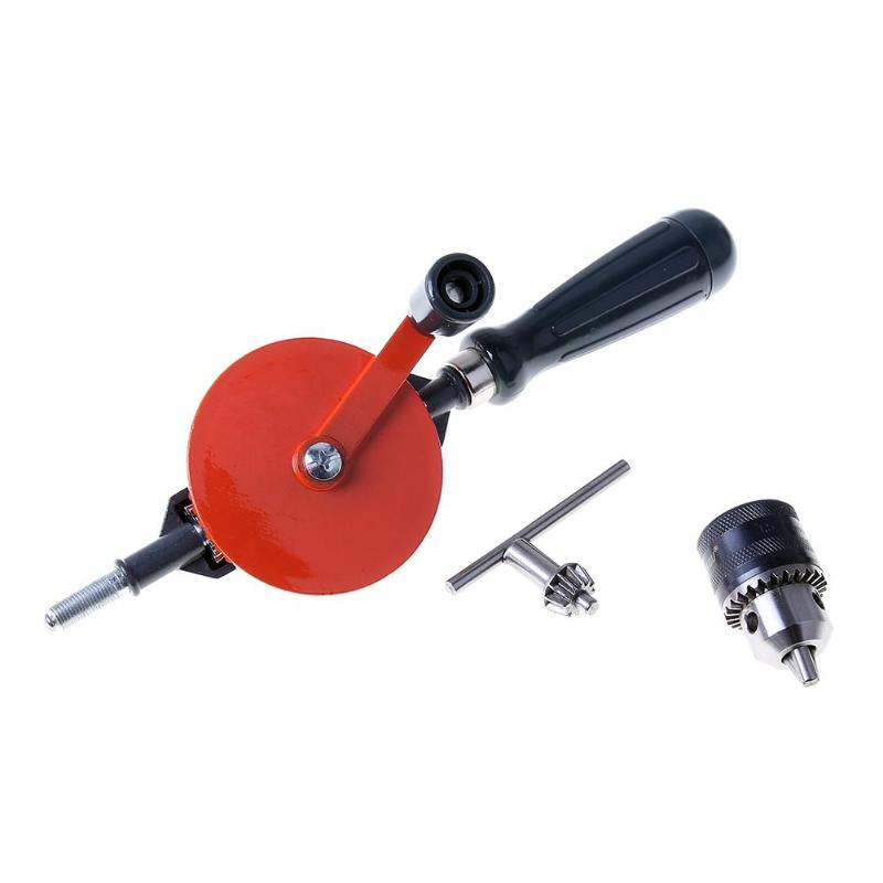 DIY Taladro Manual Hand Drill Kit Manual Drill Hand Supplies Tools Woodworking Accessories No Power Needed for Furadeira semiautomatic manual punch drill power tool accessories nuclear carving manual twist drill mini semi automatic hand drill gimlet