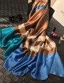 Новый Maisun Стиль Шаль Марка Шарфы Тартан Дизайн Шелковый Шарф Большой Размер Хиджаб Моды Шелковые Шарфы Для Женщин 70*180 см