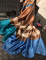 Novo Estilo Maisun Lenços de Marca Xale Tartan Projeto Lenço de Seda Tamanho Grande Hijab Lenços de Seda Da Moda Para As Mulheres 70*180 cm