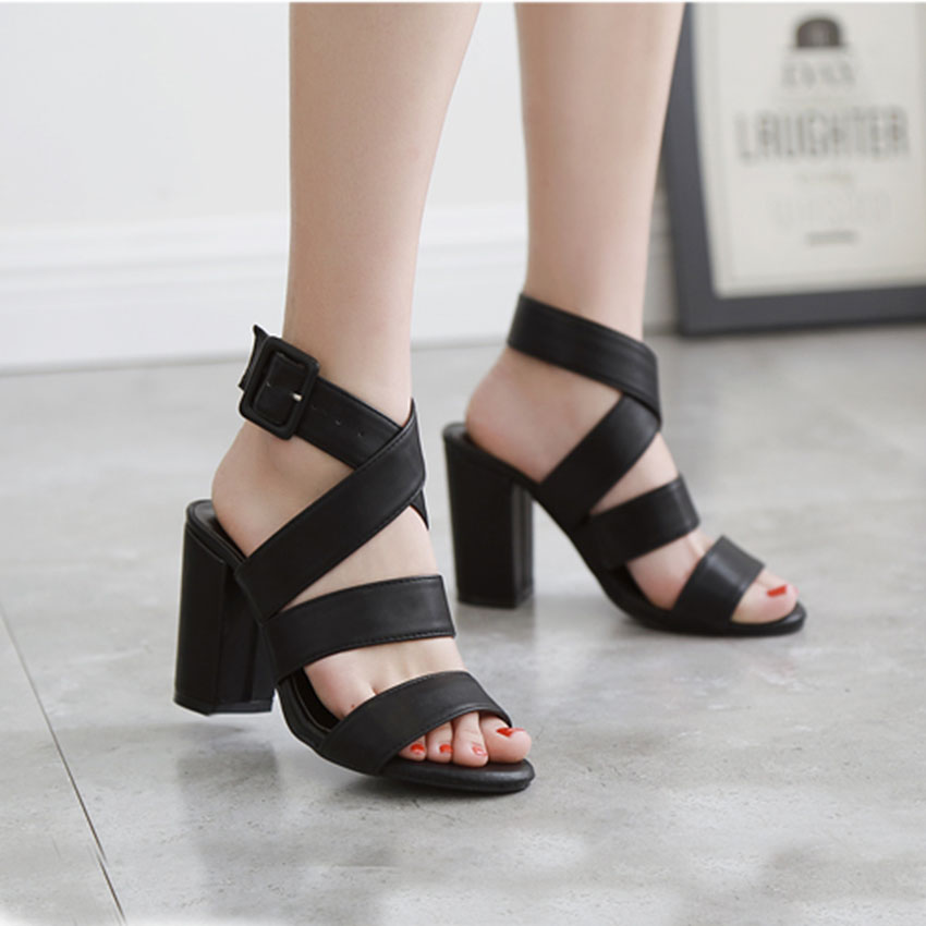 Summer Sandals Thick Free