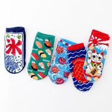 2019 new Socks women cartoon lucky cats Personality ideas cotton socks cute kitten