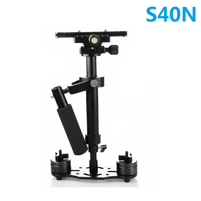 S40N 40cm Steadycam Handheld Stabilizer Steadicam Stabilizing for Canon Nikon SONY DV DSLR Video Camera Photography ashanks mini carbon fiber handheld stabilizer steadycam steadicam for photography camera video studio dslr dv nikon canon sony