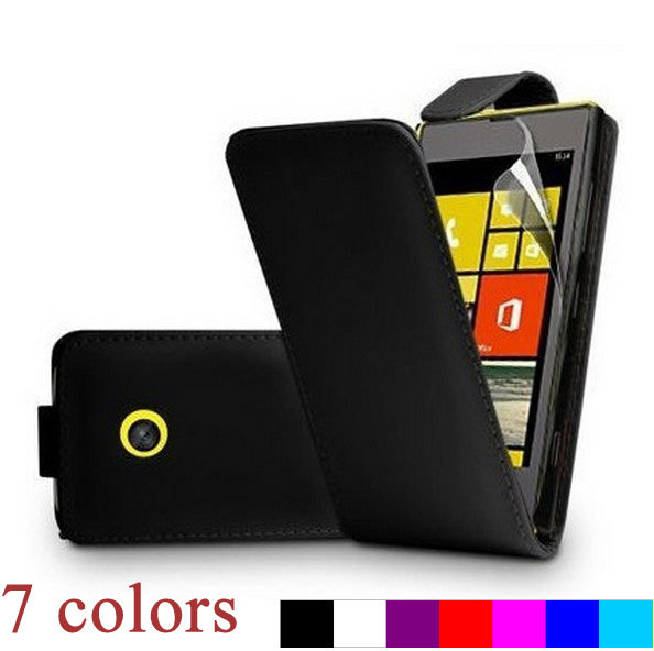 For Nokia Lumia 520,New 2014 Free Shipping case cover for Nokia Lumia 520,N520 PU Leather Flip Phone Case cover