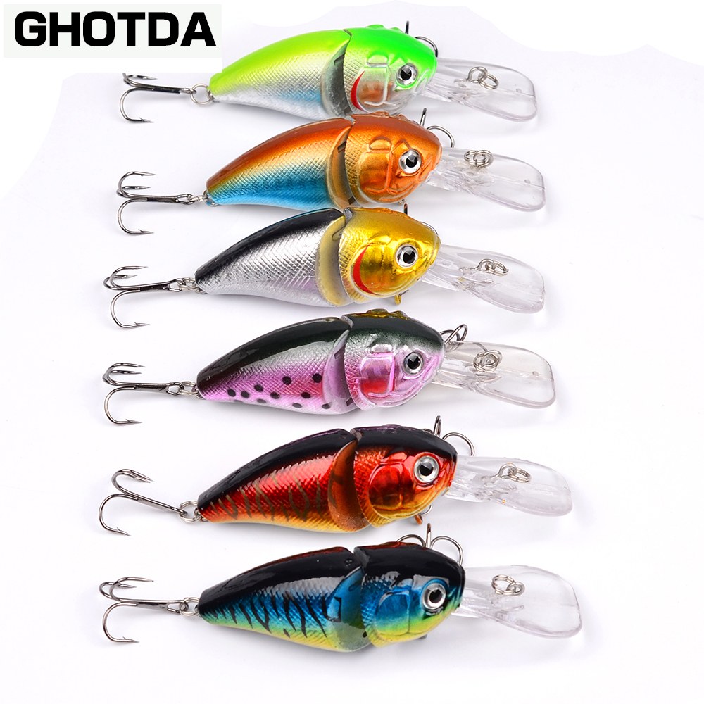1PCS Crank Bait 8.5cm 14.15g Swim Fish Fishing Lure Artificial Hard Topwater Lures