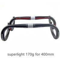 classic cycling king full Carbon road bike handlebar bent bar Bicycle parts superlight cycling parts172g 31.8*400/420/440*31.8mm