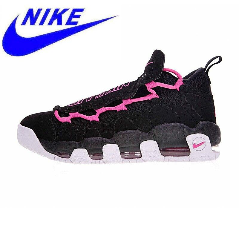 6f5185036787 Original Nike Air More Money Pink QS Women Running Shoes