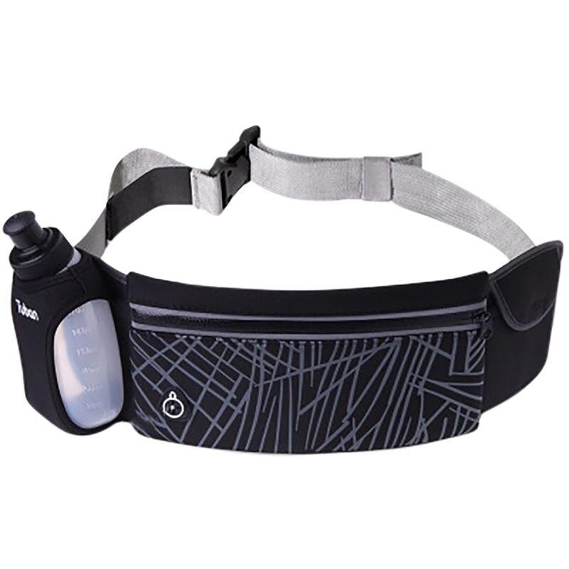 Multi-function Sports Bottle Pockets Unisex Waterproof Outdoor Running Waist Bag