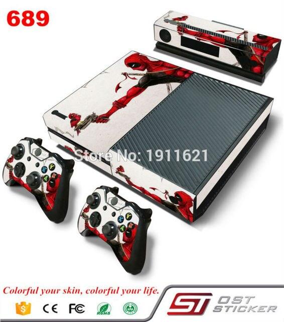 OSTSTICKER Para XBOX ONE Console Jogo Adesivo Cobrir Decalques de Vinil e  Controladores Skins Xbox Um 2dcd8883ae
