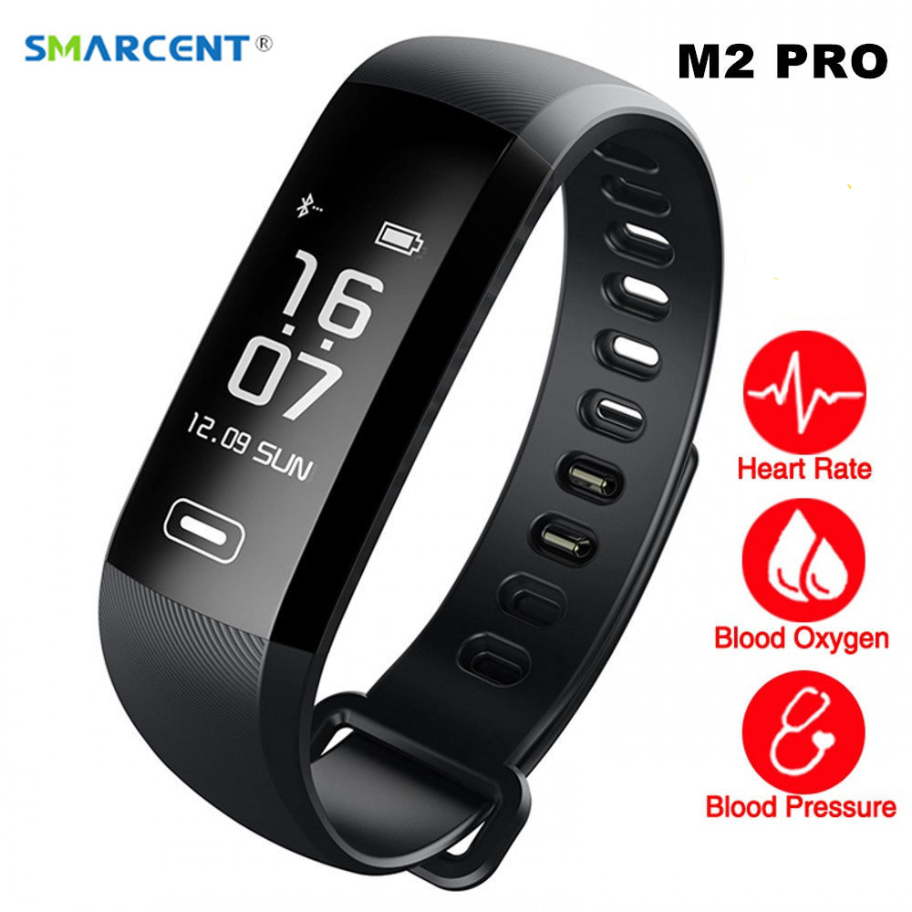 SMARCENT M2 Pro R5MAX Smart Band R5 PRO Heart Rate Monitor Blood Oxygen Fitness Bracelet Intelligent