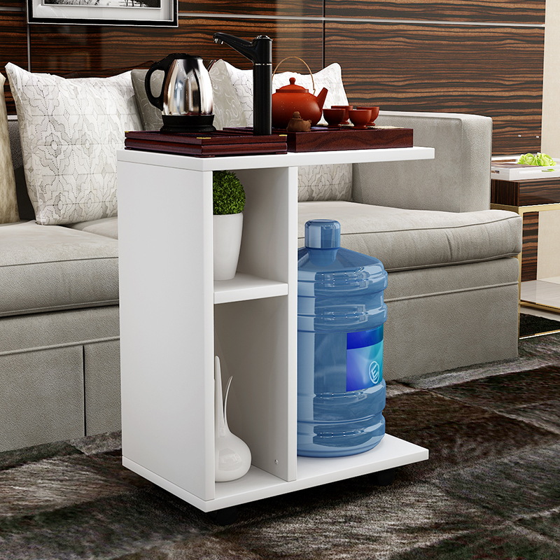 Creative Simple Mobile Small Tea Table Living Room Side Of The Sofa Side Table Multi Function