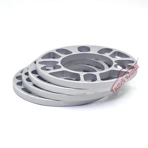 Image 4 - 4PCS/Lot 3mm 5mm 8mm 10mm Universal Aluminum Fit 4&5 Lug Car Wheel Spacer Shims Plate 4x100 4x114.3 5x100 5x108 5x114.3 5x120
