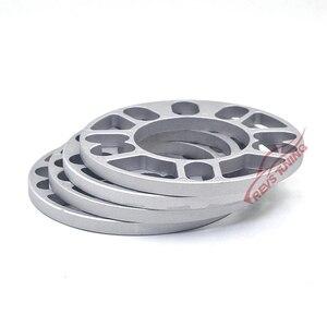 Image 4 - Espaciador de rueda de coche de 4 y 5 terminales, placa de cuñas, 4x100, 4x114,3, 5x100, 5x108, 5x114,3, 5x120, 3mm, 5mm, 8mm y 10mm, lote de 4 unidades