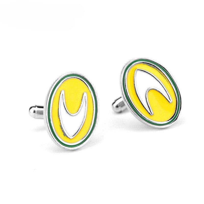 Hot Game Jewelry Star Trek Cufflink Badge Wars Metrl Alloy Cufflinks Male French Shirt Cuff Links For Men Gift Jewelry