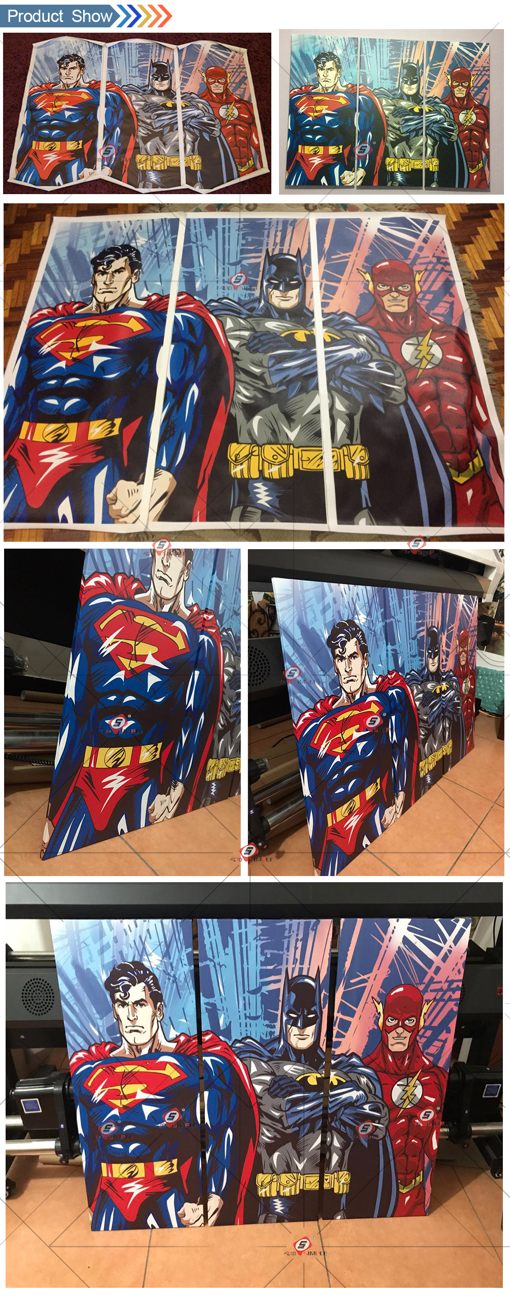 DC Comics Super Hero Canvas Oil Painting - Super Comics Online