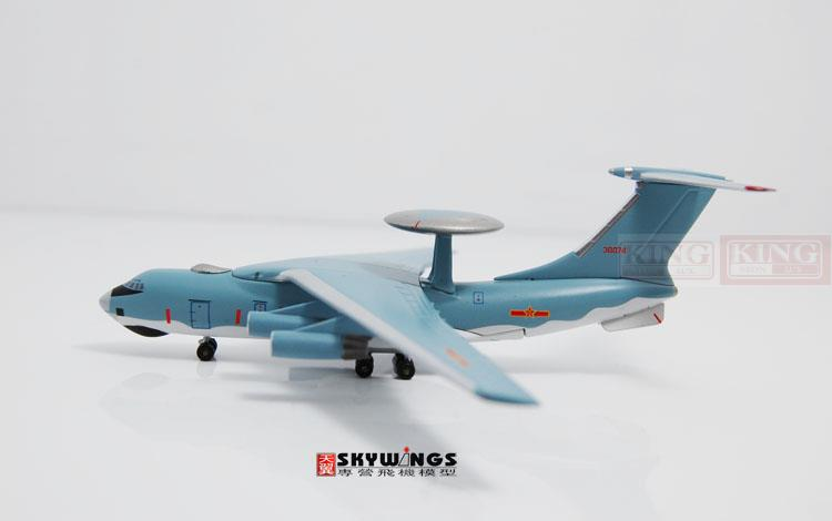 Special offer: Witty WT4I76003 IL-76 1:400 commercial Chinese air force air marshals 200030074 jetliners plane model hobby