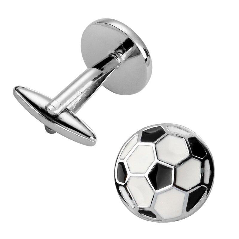 Football Match 1.1 Football Cufflinks Quality Sports Cufflinks 3 Pair Pack Sale Hot Sale 50-70% OFF