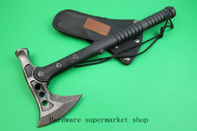 Dual ax hammer tactical straight knife Axe Camping ax, ax outdoor professional class quality! ! Free shipping