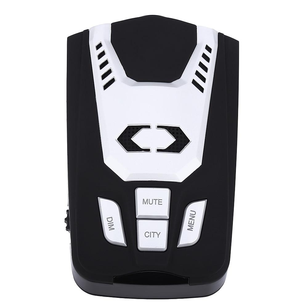 360 degrés électronique détecteurs de Radar Automobile camionneur vitesse D5 détecteur de Radar alerte vocale avertissement 16 bande