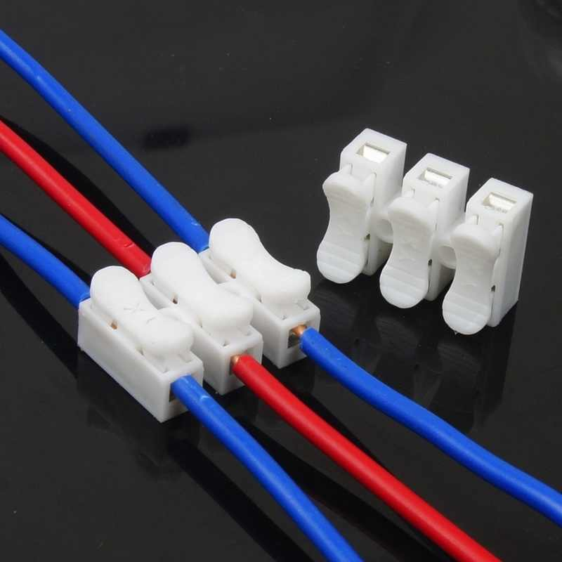 Detail Feedback Questions About 30pcs Ch 2 2pins Quick Splice Lock