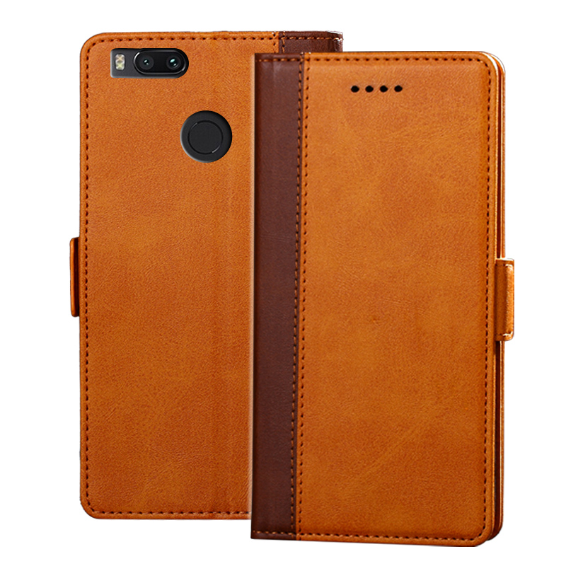 Leather Flip Case for Xiaomi Mi A1 Wallet Funda Book Cover for Xiaomi Mi A1 Global Version Xiomi MiA1 A 1 5X 4GB 5.5