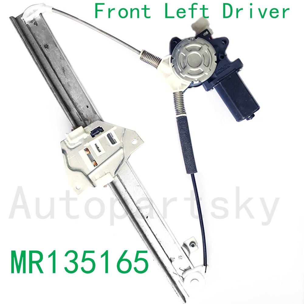 MR135165 Window Regulator Motor Front Left Driver for Mitsubishi Montero 92-00