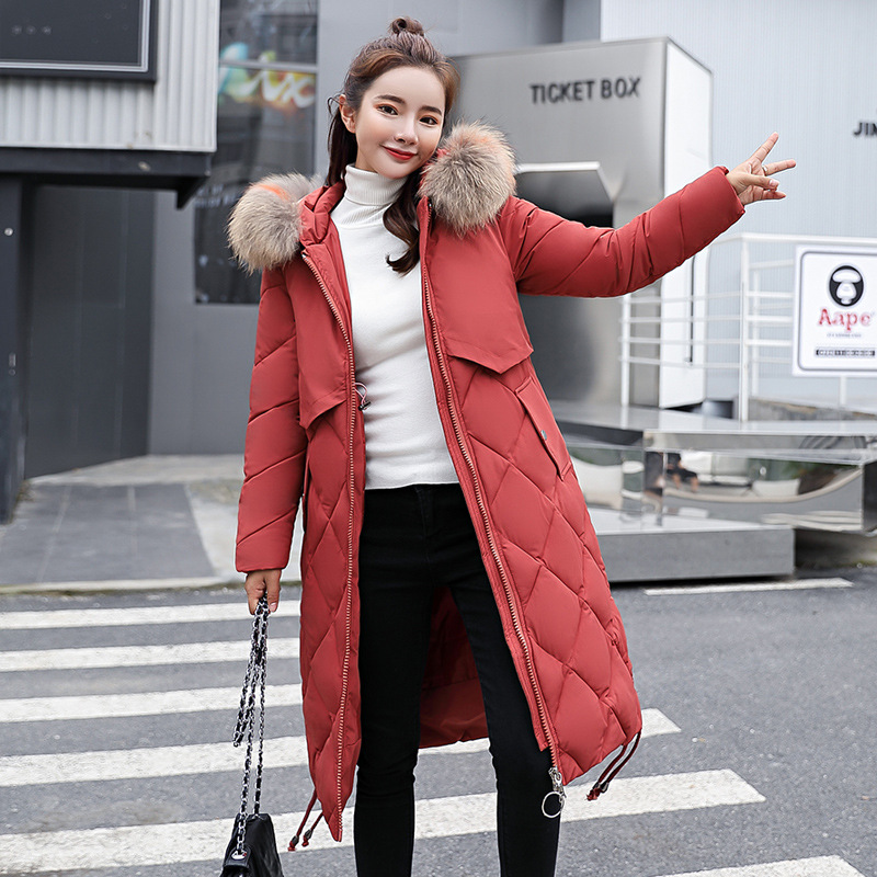 d070077992ae3 2018 New womens winter down jackets coats women High Quality Warm Plus size  thickening Warm Parka Hood Over Coat MF025
