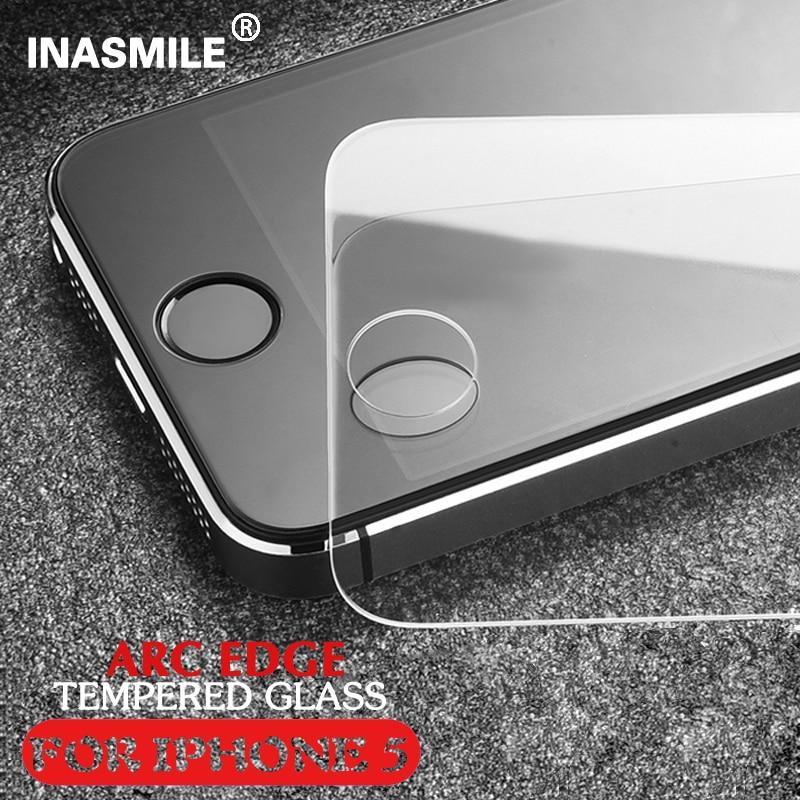Закаленное Стекло-Экран Протектор Для iPhone 5S Закаленное защитная Пленка Для Apple iPhone5 ясный Протектор Экрана для iphone 5 5C